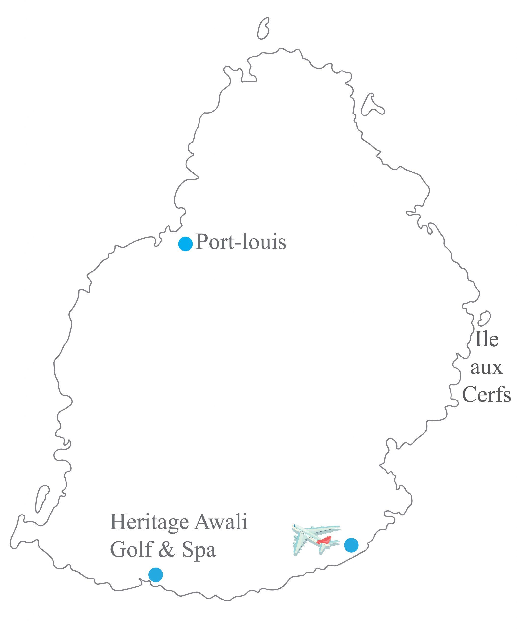 Heritage Awali Golf Mauritius