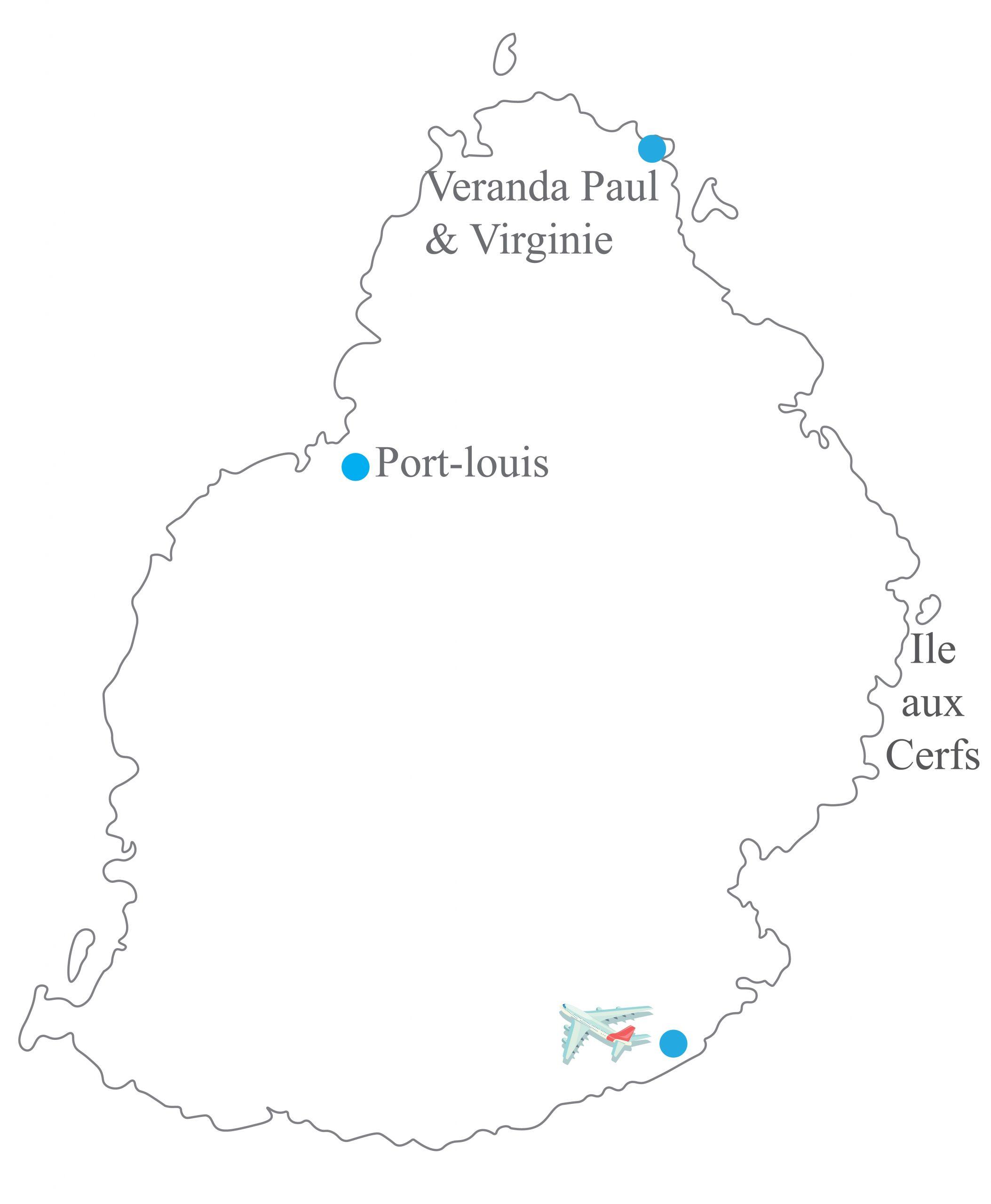 Veranda Paul & Virginie Mauritius